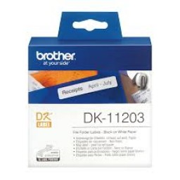 Brother Etiquetas para carpetas 17mmx87mm, 300 unidades de papel