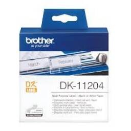 Brother Etiquetas múltiple uso 17mmx54mm, 400 unidades de papel