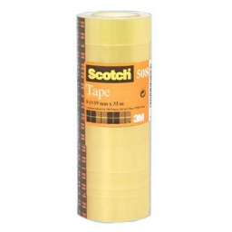 Pack 8 cintas adhesivas Scotch 19 mm. x 33 m. 508/1933