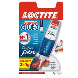 Pegamento Super Glue3 Perfect Pen 3 g. gel Loctite 2057746