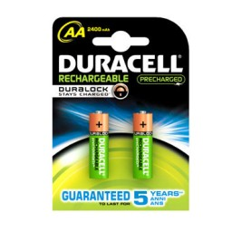 BL2 pilas alcalinas recargables Duracell Stay Charged LR6/AA 59560