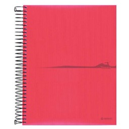 Cuaderno Think PP 140HJ Din A-4 amarillo Liderpapel 29633
