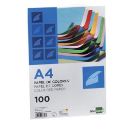 100HJ papel rosa 80 g/m² Din A-4 Liderpapel 28246