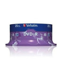 SP25 DVD+R 4,7GB 16X Verbatim 43500