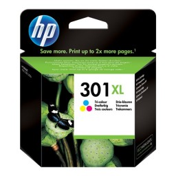 Cartucho de tinta nº301XL 8ml HP Envy 5530, Deskjet 1010,1510 Cartucho Color